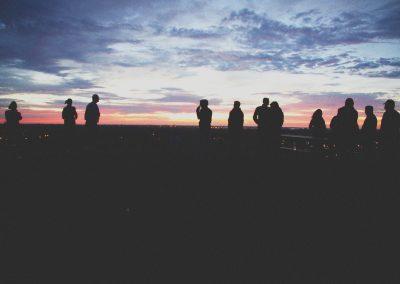 Organized a Sunrise Viewing